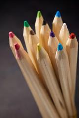 Pencils close up