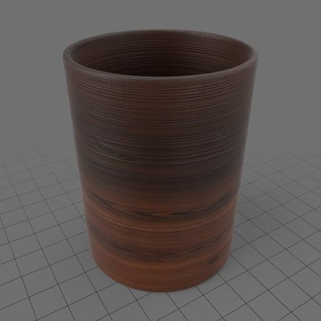 Wooden shot glass