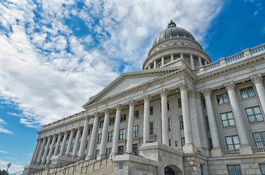 Utah State Capitol, in Salt Lake City, Utah, USA