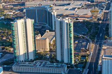 Papiers peints Las Vegas Aerial view of Las Vegas in Nevada. USA