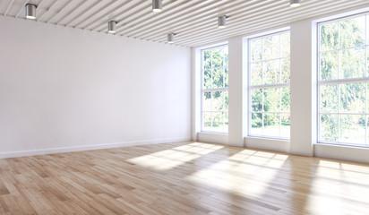 large luxury modern bright interiors room illustration 3D rendering