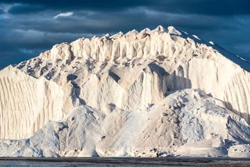 hills of salt in saline
