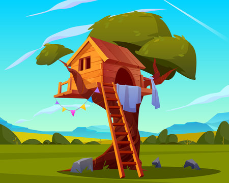 Kids Treehouse Photos Royalty Free Images Graphics Vectors Videos Adobe Stock Tree house kids brings all of the adventure of the outdoors home to your kids! kids treehouse photos royalty free