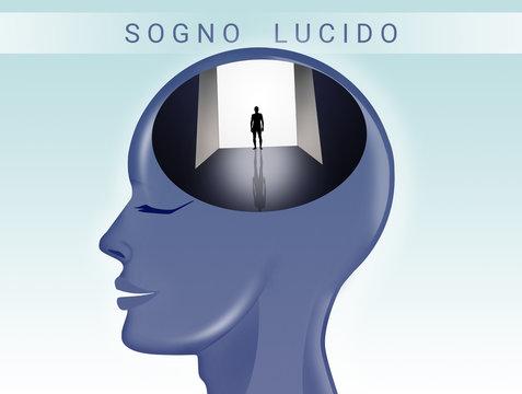 illustration of lucid dream