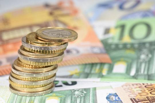 argent euro monnaie change echange finances BCE