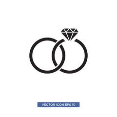 jewel ring icon vector illustration