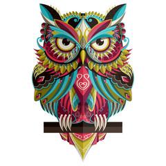 Canvas Prints Owls cartoon Web