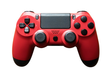 video game controller. gamepad isolated on white.