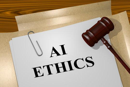 AI ETHICS concept