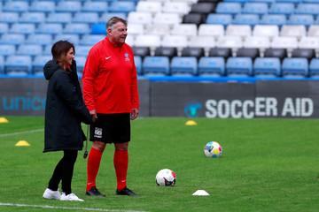 Soccer Aid 2019 - England Training