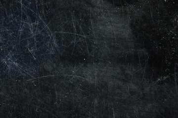 scratch black background overlay / abstract black dark background, broken cracks and scratches for overlay Wall mural