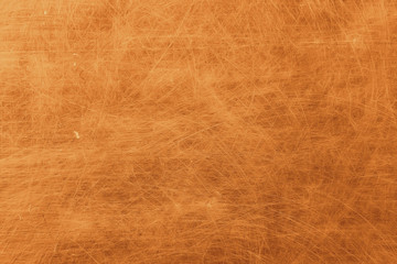 golden background scratch blank texture / abstract metallic background old vintage wall