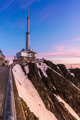 Pic du Midi telecast antenna, France