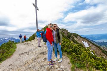 Wanderung auf den Herzogstand und zum Gipfelkreuz