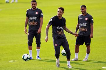 Copa America - Peru Training