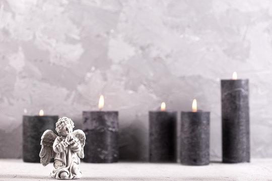 Mourning  background