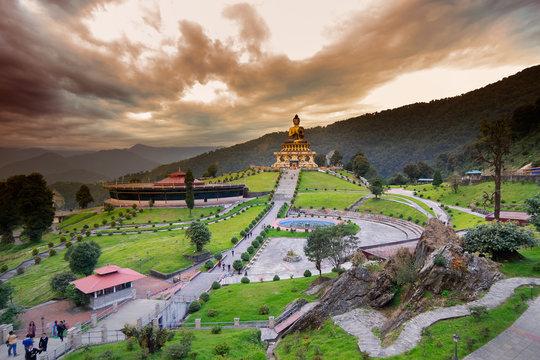Buddha Park at Rabangla, Sikkim, India.