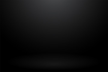 Abstract black background Gradient that looks modern Fototapete
