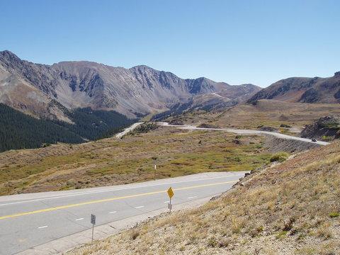 US Route 6 over Loveland Pass, Colorado