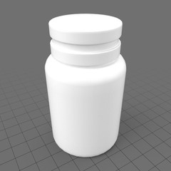 Opaque pill bottle 2