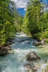 Schöne Erkundungstour entlang der Berchtesgadener Alpenvorland. - Hintersee.
