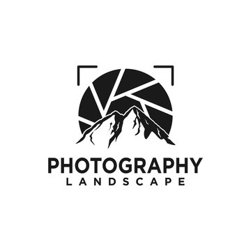Landscape photography logo design inspiration