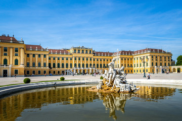 Wall Mural - Schloss Schönbrunn, Wien, Österreich