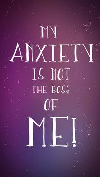 My Anxiety