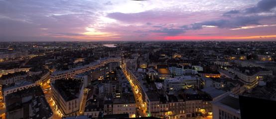 Nantes Le Nid - Tour Bretagne Fotomurales