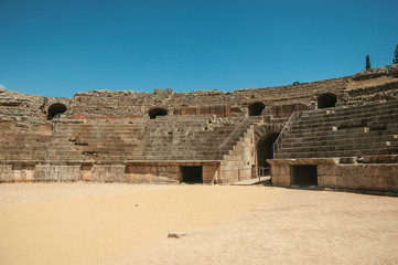 Roman Amphitheater at the archaeological site of Merida