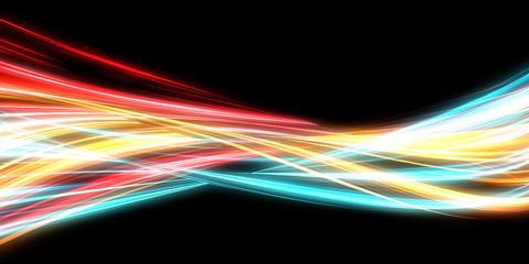 Neon Streaks