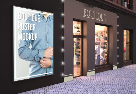 Store Exterior Mockup