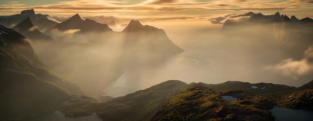 Mefjorden in sunset