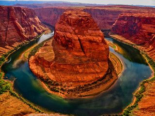 Canvas Prints Cuban Red Horshoe Bend - Page Arizona