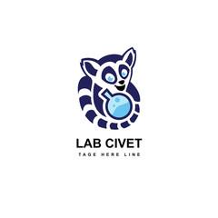 civet lab logo template