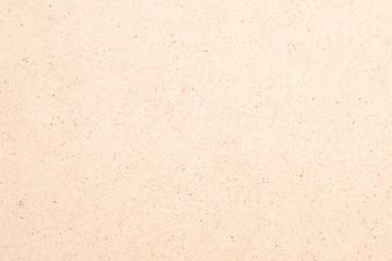 Pale beige plywood texture abstract art background. Solid color veneer surface. Copy space.