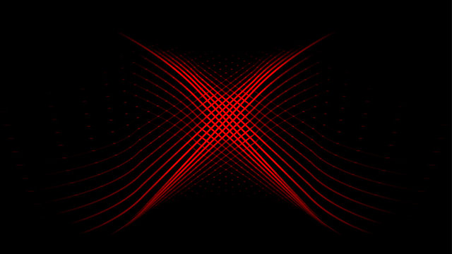 Red x target mark light abstract