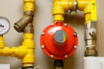 liquid petroleum gas( LPG ) pipe line and safety valve