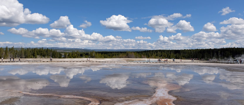 Grand Prismatic Spring, Yellowstone, National park