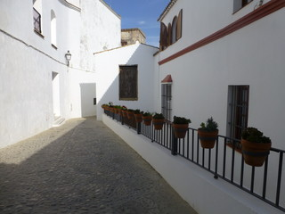 Andalucia. White village of Arcos de la Frontera. Cadiz,Spain