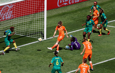 Women's World Cup - Group E - Netherlands v Cameroon