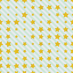 Golden stars on diagonal straight lines background