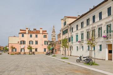 Malamocco on Lido di Venzia in Venice Italy
