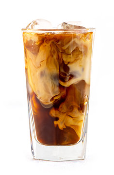 iced coffee with milk