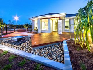 A modern house exterior