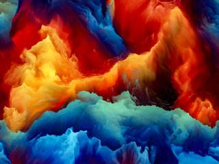 Canvas Prints Cuban Red Illusion of Cloudscape