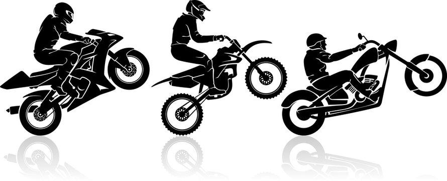 Extreme Motorbike Exhibition Set
