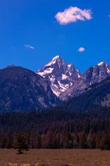 A mountain in Montana, USA taken in Infrared.