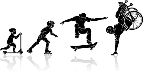 Skateboard Extreme Evolution