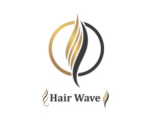 hair wave icon vector illustratin design symbol of hairstyle and salon